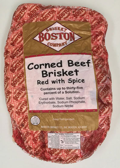 Corned Beef Brisket - Red with Spice