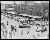 Blackstone Street in Boston, MA - 1956
